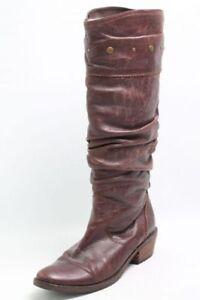Stiefel-braun-Leder-Gr-38-UK-5