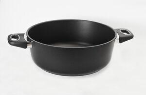 Original Gundel Casserole Poêle en Fonte Ø28cm , Hauteur 11cm Surface Biotan,