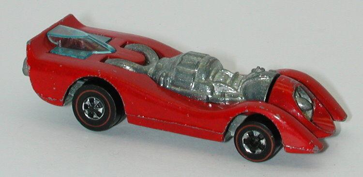 Redline Hotwheels Red 1973 Jet Threat oc13039
