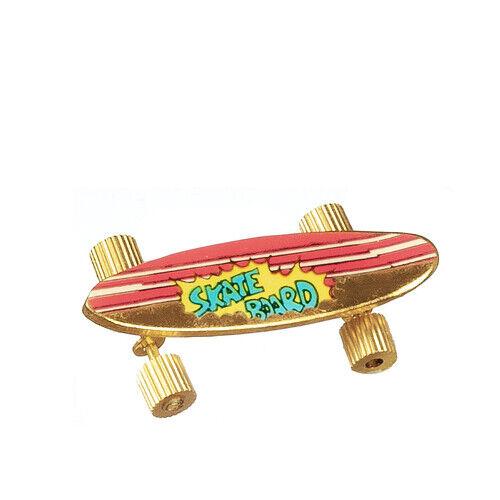Casa delle Bambole Miniatura Skateboard giocattolo skate in miniatura