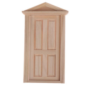 1:12 Dollhouse miniature door numbers for doll house room decoration ^D