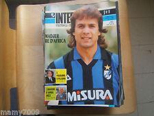 INTER FOOTBALL CLUB=N°6 1988=MATTHAEUS=MADJER=POSTER MANDORLINI CM 40X27