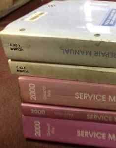 2000 Pontiac Grand Prix Service Shop Repair Manual Set W border=