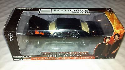 Loot Crate Exclusive Supernatural 1967 Chevy Impala 1:64 Replica New!