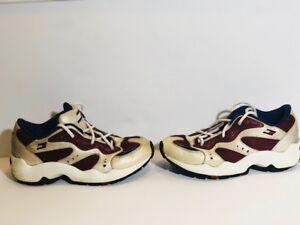 c943eaa22ac36 Image is loading vintage-tommy-hilfiger-shoes-Men-Size-8-90s