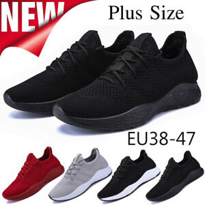 MEN-039-S-SHOCK-ABSORBING-RUNNING-TRAINERS-CASUAL-LACE-GYM-WALKING-SPORTS-SHOES-SIZE