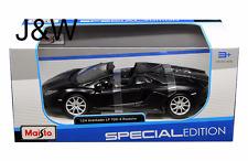 Maisto Lamborghini LP700-4 Roadster Aventador Matte Black 31504 1/24
