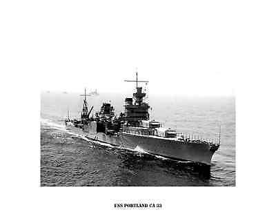 USN Navy USS ALBANY CA 123 Naval Ship Photo Print