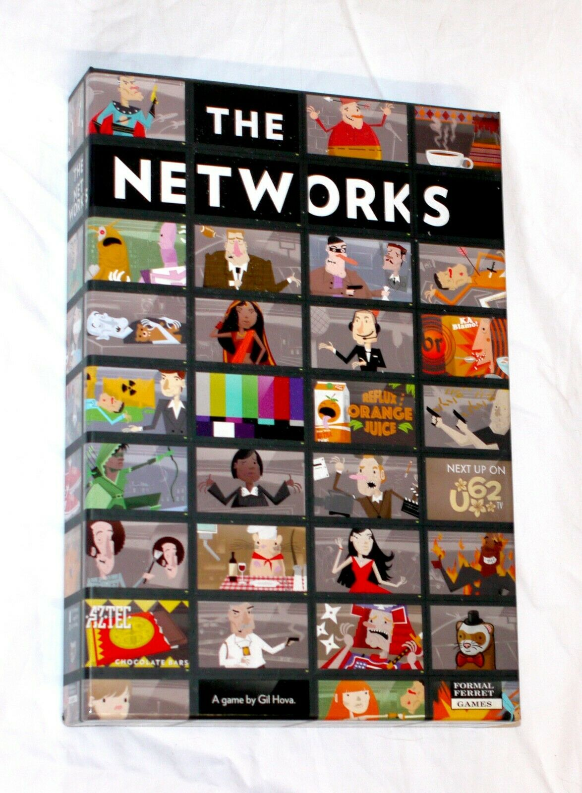The Networks Board Game 1-5 Players - 100% Complete