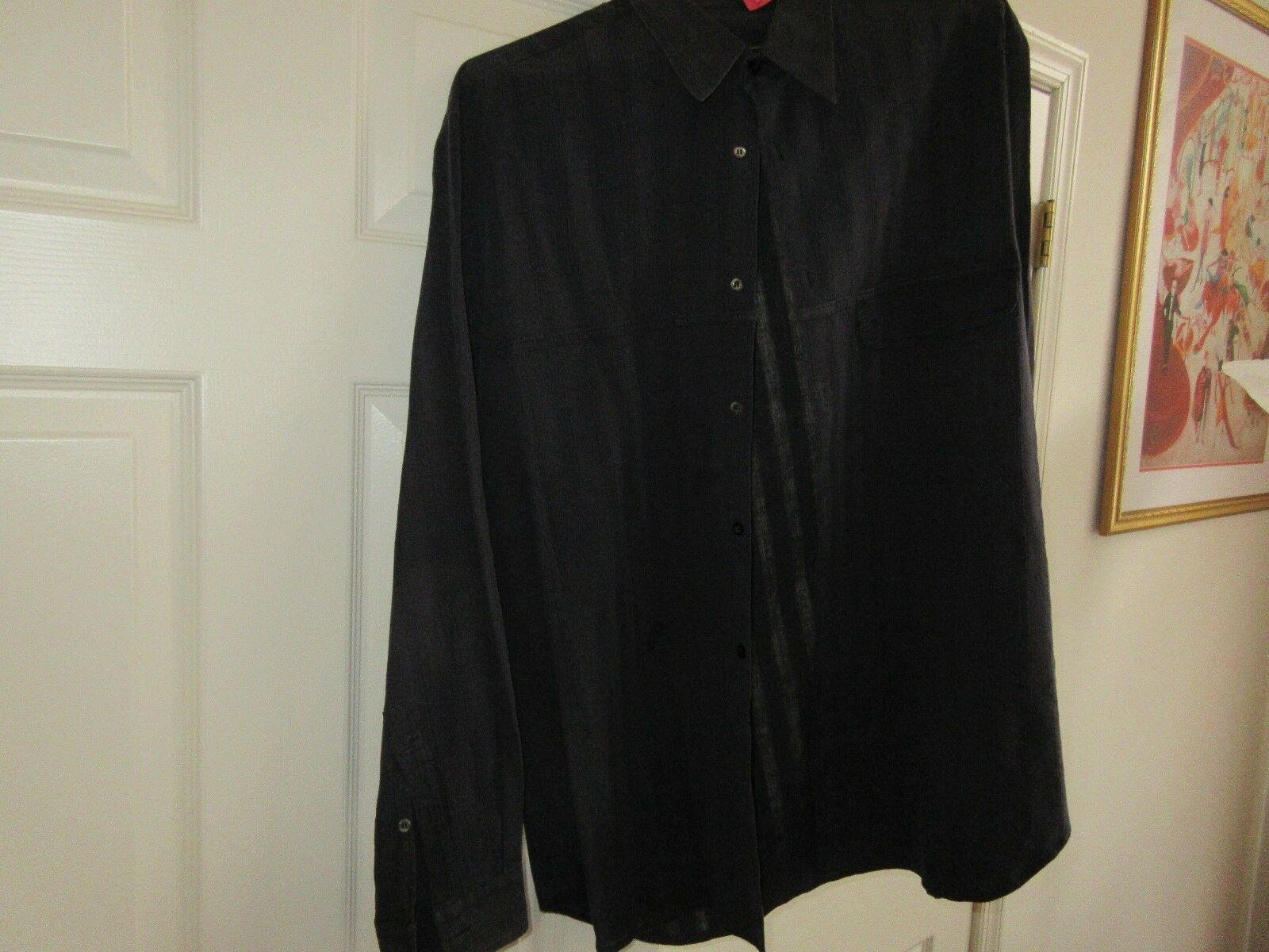 Zanella , Made in Italy , Size L , Long Sleeve Shirt ,