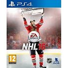 NHL 16 PlayStation 4 Ps4 UK Release Ice Hockey
