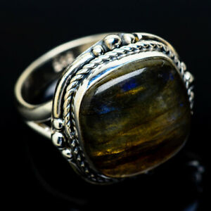 Labradorite-925-Sterling-Silver-Ring-Size-7-5-Ana-Co-Jewelry-R13915F