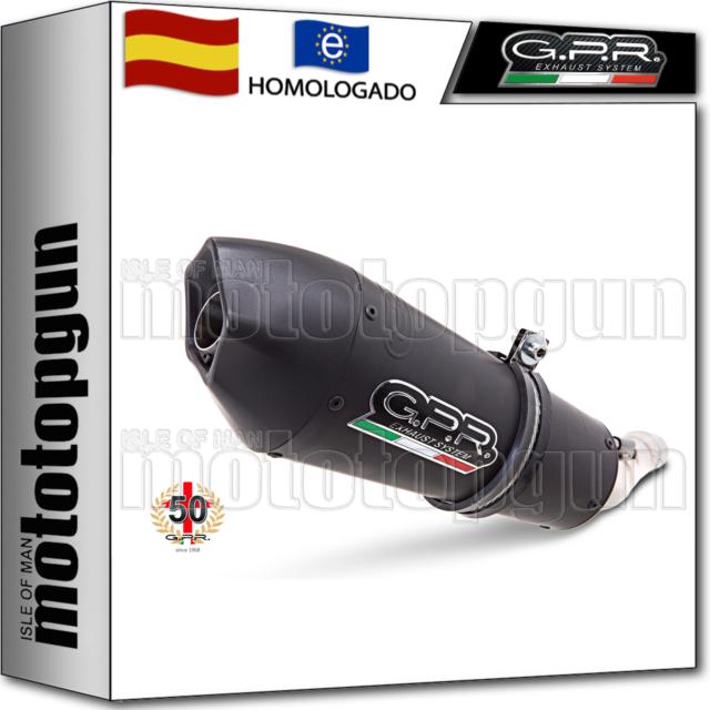 GPR TUBO DE ESCAPE HOM GPE ANNIVERSARY TITANO NEGRO BMW R 1200 GS 2009 09