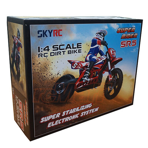 Skyrc Super Rider Sr4 1 4 Rc Dirt Bike With Leopard 60a Esc Toro