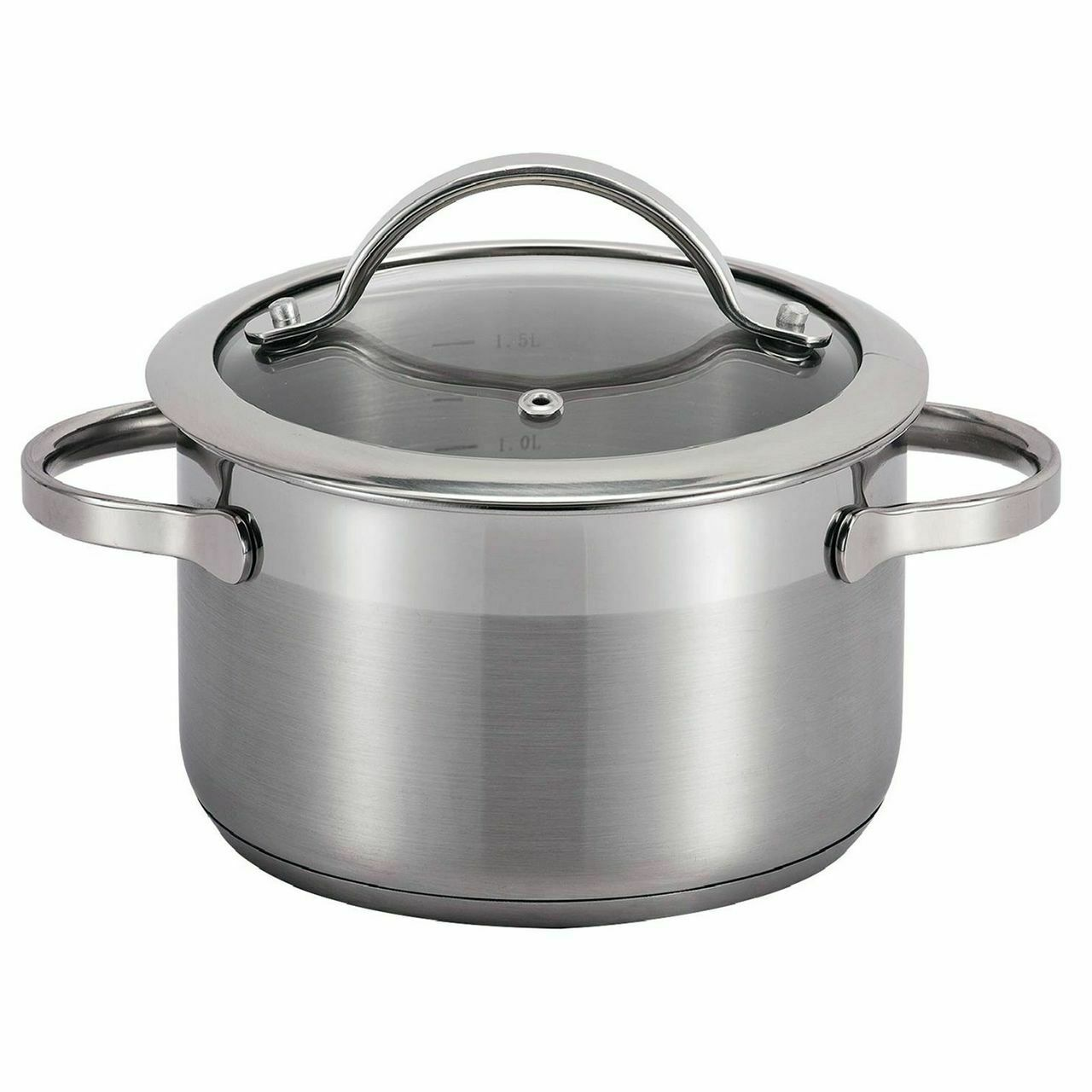 SSW Pulpo Cooking pot with Lid, Stainless steel, Ø 24 cm, 6,1 l