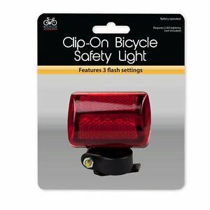 Clip Vélo Lampe De Sécurité Avec Clip De Montage Pivotant Attachement Pour Turning On/off-afficher Le Titre D'origine