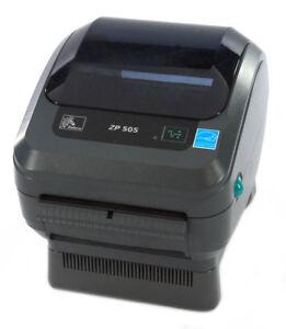 ZP505-0515-0110-Zebra-ZP505-Direct-Thermal-Label-Printer-USB-FedEx-DHL-UPS-TNT