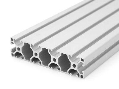 50mm Aluminiumprofil 20x20 B-Typ Nut 6 4,50 EUR//m + 0,25 EUR pro Schnitt, min. 2,50 EUR Zuschnitt 50mm-2000mm