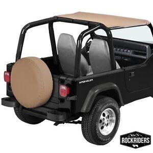 Jeep Bimini Top >> Details About 1992 1995 Jeep Wrangler Bikini Bimini Top In Spice