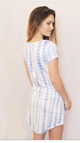 Women's pajamas Romper and Gown in one xxs-3XL  tie dye Pj Snap Butt
