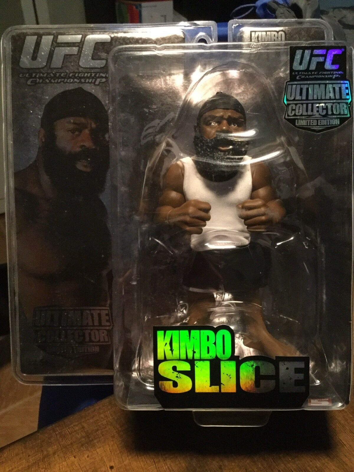 Kimbo Slice Round 5 Mma Collector Limited Edition Niedrig Number 3000