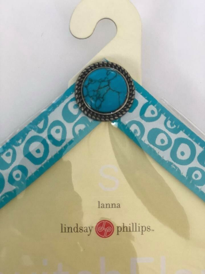 Lindsay Phillips Interchangeable Straps Lanna BNWT Size Small