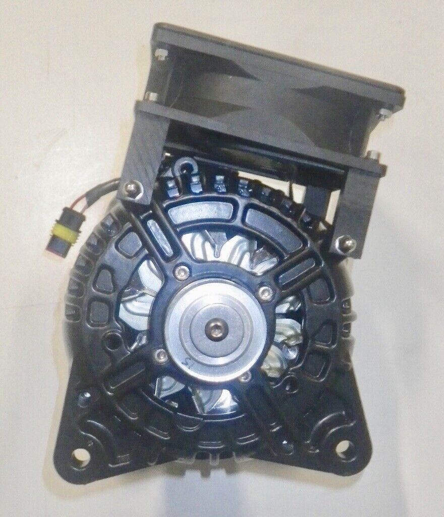 Alternator low speed for hydrogenerator line shaft 600 watts 12 volts