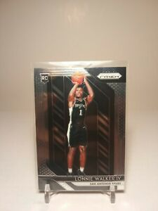 2018-19 Panini Prizm Lonnie Walker IV Rookie Base RC San Antonio Spurs