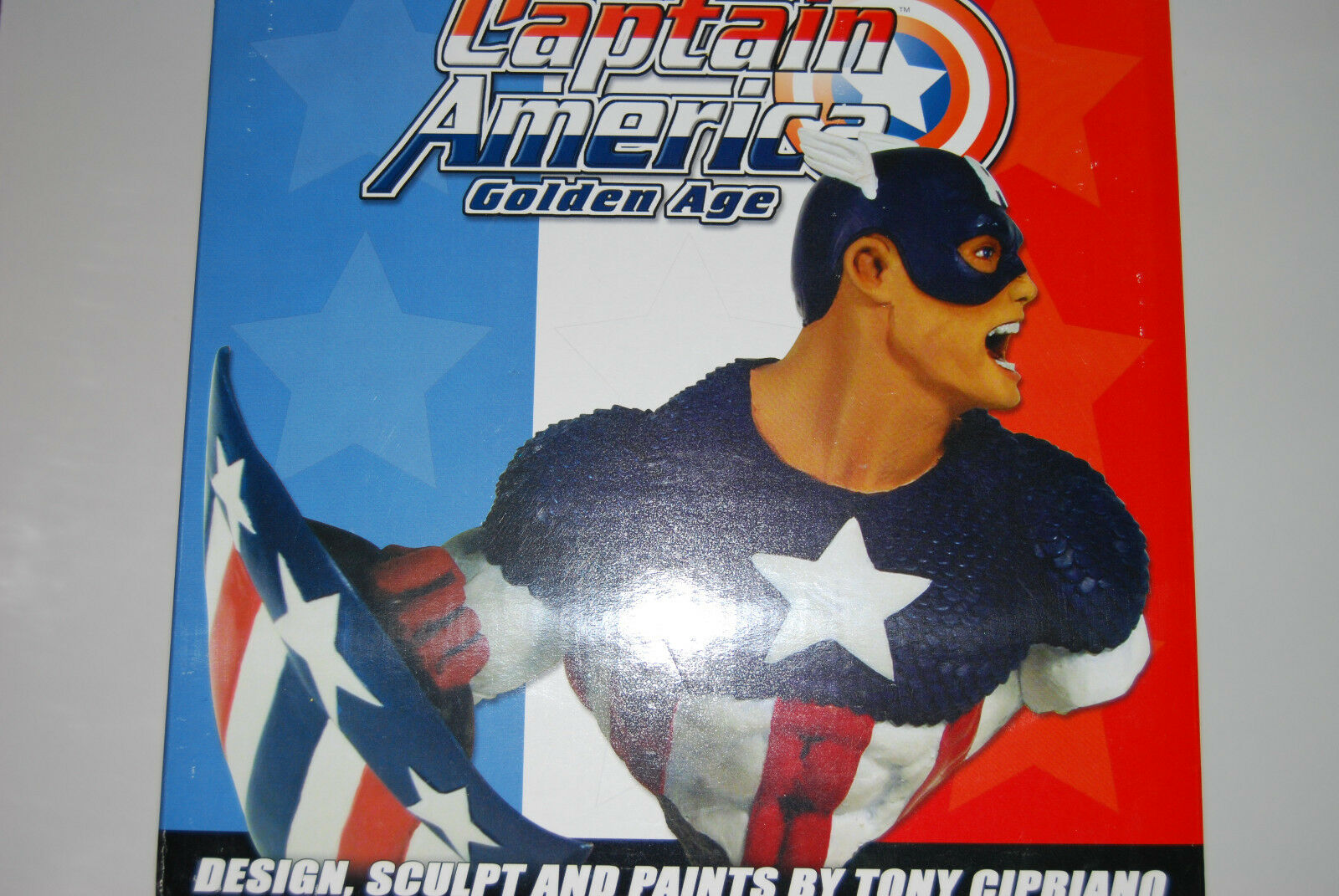 CAPTAIN AMERICA GoldEN AGE 8  BUST MARVEL UNIVERSE(NOW AVENGERS NEW SIDESHOW1234