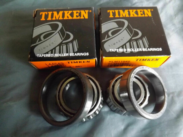 Triumph Timken Front Hub Bearing Set Gt6 VIT Stag 2000 Dolomite TOLEDO 2.5pi