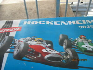 Vintage-Slot-Car-Carrera-hockenhiem-30350-Track-Set-Germany-Original-Box