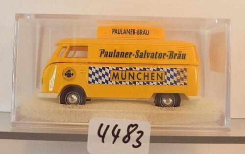Brekina 1//87 nº 32511 volkswagen descubrimos VW t1b recuadro Paulaner munich OVP #4483