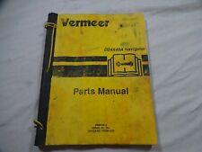 Vermeer D24x40a Navigator Serial No384 Up Parts Catalog Manual 105400 Q20 1000