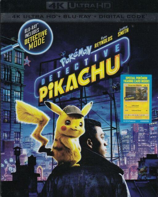 DETECTIVE PIKACHU (4K ULTRA HD/BLURAY)(2 DISC SET)(USED)