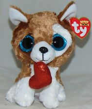2018 Ty Beanie Boos Smootches The Dog for Valentine s Day 2019 (6 Inch) 07a4957aa3d