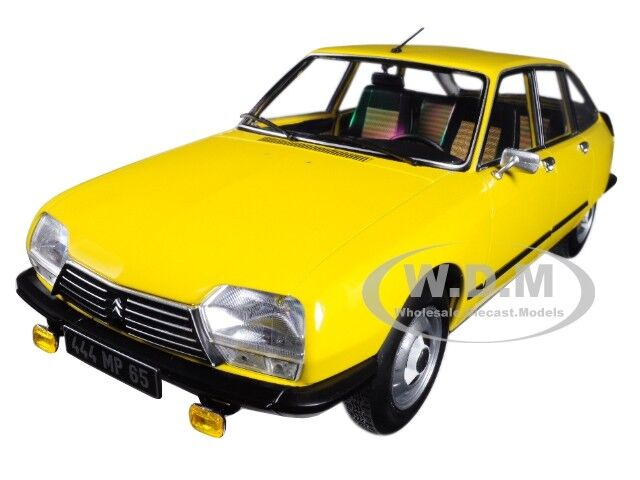 1979 CITROEN GS X3 MIMOSA jaune 1 18 DIECAST CAR MODEL BY NOREV 181624