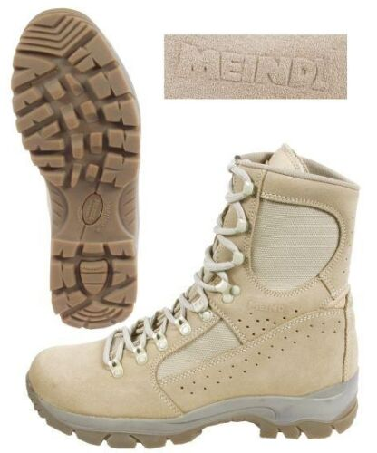 BRITISH ARMY MEINDL COMBAT BOOTS BRAND NEW SIZE VARIOUS DESERT BOOTS