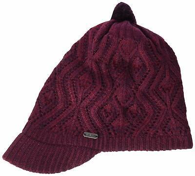 PISTIL HT-7114 WOMENS JAX HAND KNIT SKI SNOWBOARD WINTER BEANIE BRIM HAT CAP