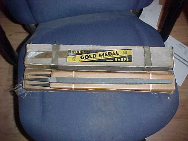 6 NOS In Box Gold Medal 14
