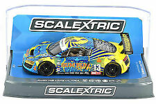 "Scalextric /""Sun Energy/"" Mercedes AMG GT3 DPR W// Lights 1//32 Scale Slot Car C3941"