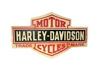 Harley-davidson Bar And Shield Metal Sign Free Shipping