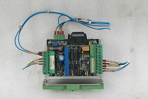 Elmo motion control ssa 6 100 servo amplifier card plug in including power modul ebay Elmo motor controller