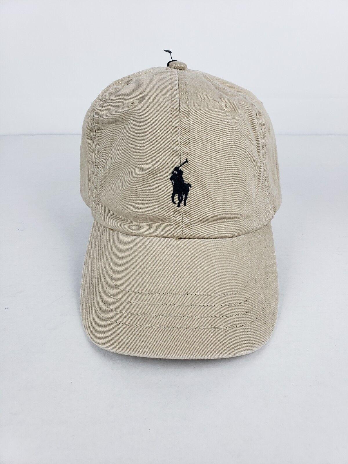 Polo Ralph Lauren Khaki  Men's Baseball Cap Classic Hat Khaki Lauren Adjustable Nubuck fee216