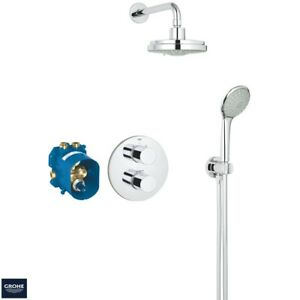Grohe Grohtherm 2000 Perfect Shower Set.Details About Grohe 34399 Grohtherm 3000 Cosmopolitan Thermostatic Perfect Shower Set 34399000