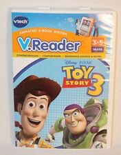Vtech V.Reader Disney Pixar Toy Story 3 Animated E-Book System Ages 3-5