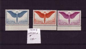 Schweiz-Falz-189-91-Michel-180-K-14795