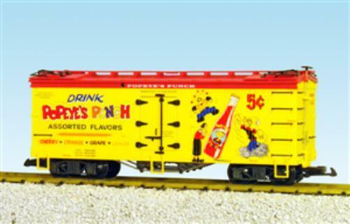USA Trains 16449 Reefer  POPEYE's Punch