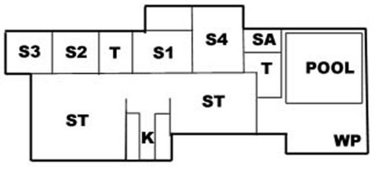 Luksussommerhus, Marielyst, sovepladser 14