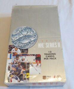 1991-92-Pro-Set-Platinum-NHL-Series-2-Sealed-Box-Of-Hockey-Cards-36-Packs
