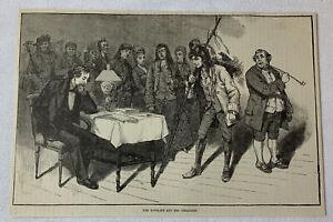 1885-Rivista-Incisione-Charles-Dickens-e-Suo-Creazioni
